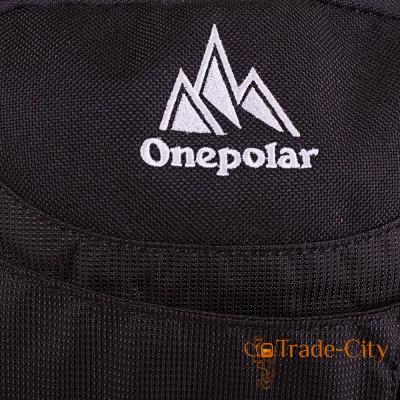 Мужской рюкзак с отделение для ноутбука ONEPOLAR (W1359-black)