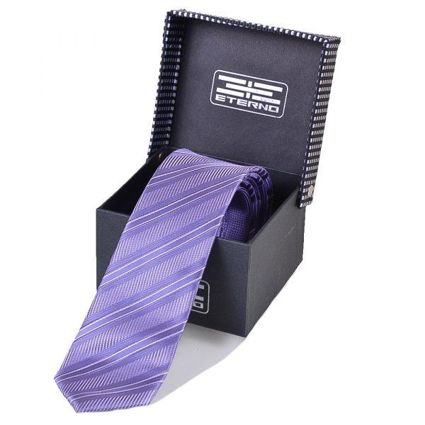 Мужской шелковый галстук ETERNO (EG600)