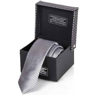 Мужской шелковый галстук ETERNO (ETEG675)