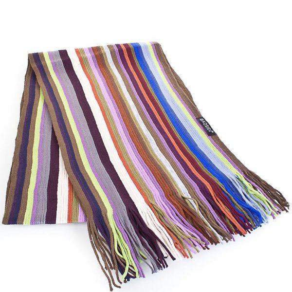 Мужской шерстяной шарф в стиле Paul Smith BAOSIDI (166*25 см)