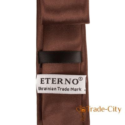 Мужской узкий шелковый галстук ETERNO (EG621)