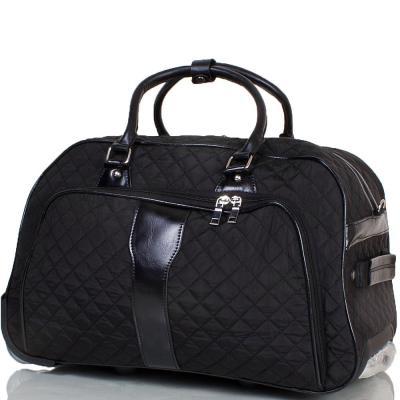 Небольшая дорожная сумка на 2-х колесах ETERNO (TU9089S-black)