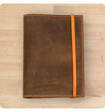 Обложка для паспорта «2.0 Орех-апельсин» BlankNote