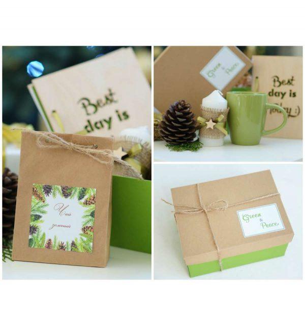 Подарочный набор «Green & Peace»