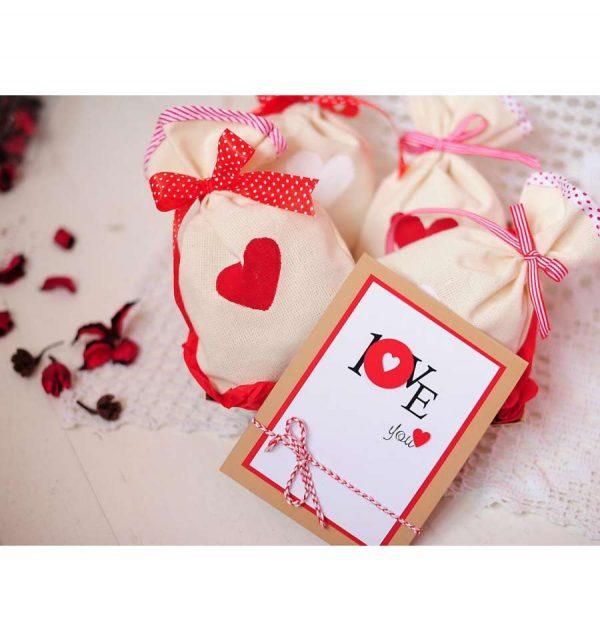 Подарочный набор «Мішечки з коханням»