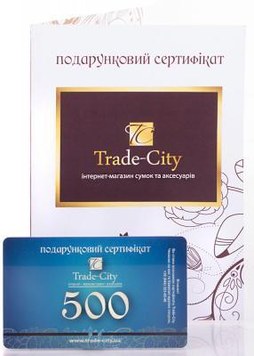 Подарочный сертификат номиналом 500 гривен (платите 490 грн)