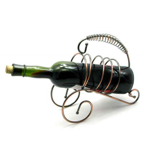 Подставка для бутылки «Спираль»