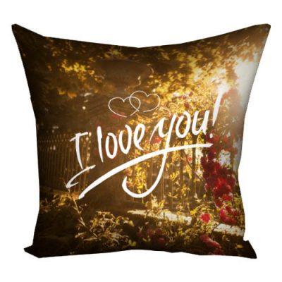 Подушка «Люблю тебя»