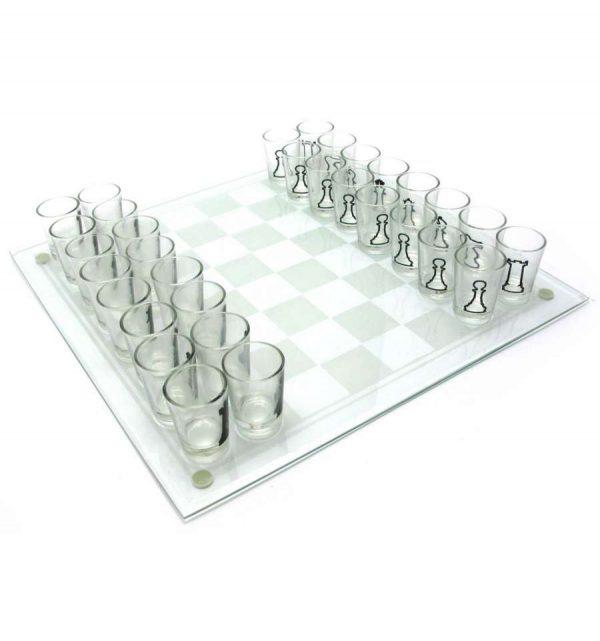 Шахматы с рюмками (средние)