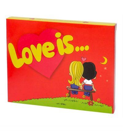 Шоколадный мини-набор «Love is»