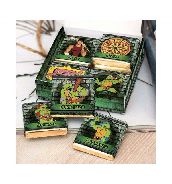 Шоколадный набор «Черепашки - нинзя»