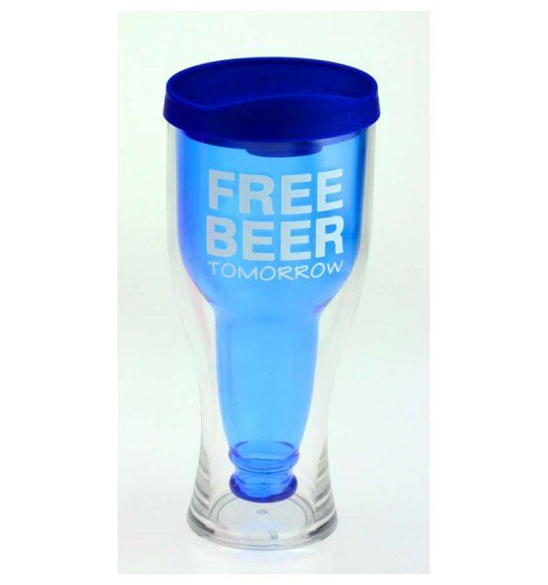 Стакан-бутылка «Free beer»