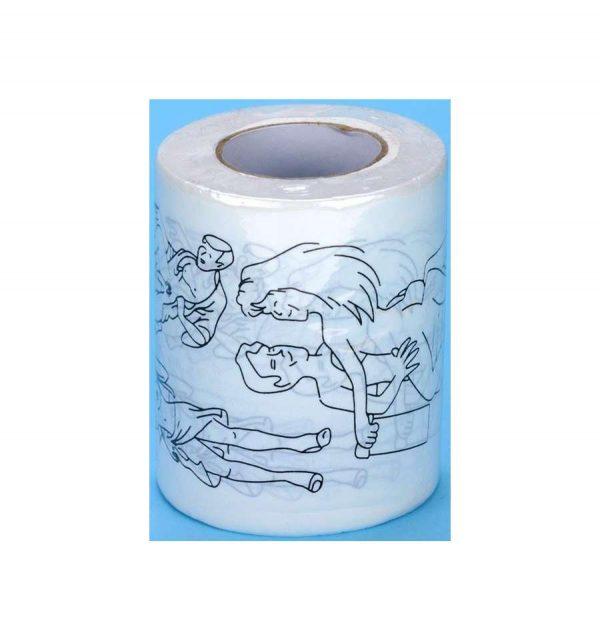 Прикольная туалетная бумага «КАМАСУТРА»