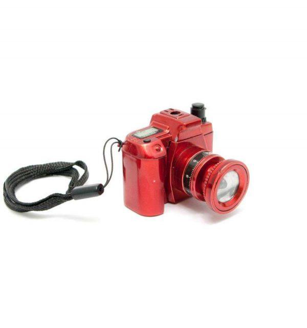 Зажигалка газовая «Фотоапарат» (с подсветкой)