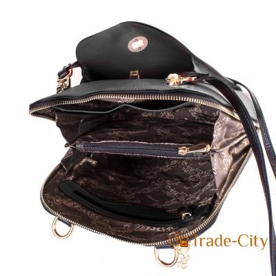 Женская кожаная сумка-рюкзак DESISAN (SHI3132-011)