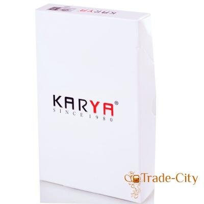Женская кожаная визитница KARYA (SHI0014-1LAZ)