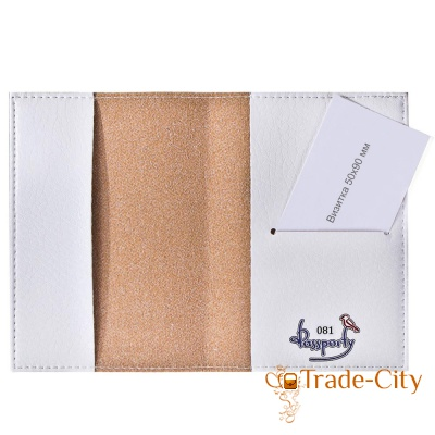 Женская обложка для паспорта PASSPORTY (KRIV081)