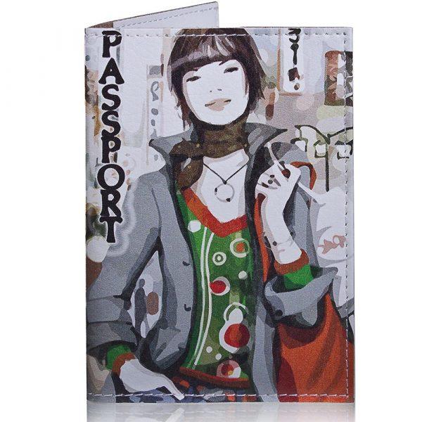 Женская обложка для паспорта PASSPORTY (ПАСПОРТУ) KRIV034
