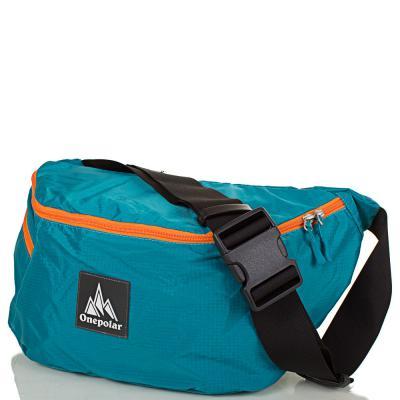 Женская поясная сумка ONEPOLAR (biruza)