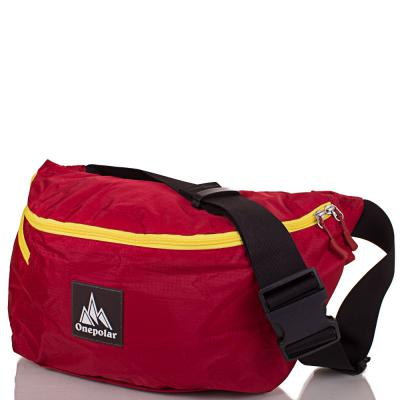 Женская поясная сумка ONEPOLAR (red)