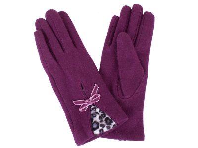 Женские шерстяные перчатки ETERNO (E2539-violet)
