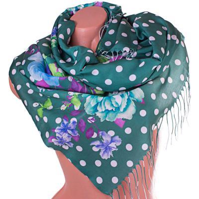 Женский хлопковый шарф SOFTEL (176 на 66 см)