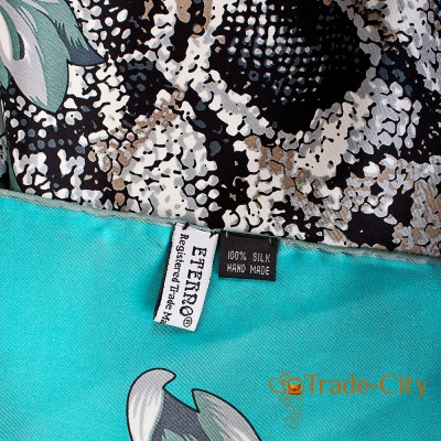 Женский шелковый платок ETERNO (89*89 см )