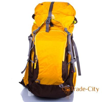 Женский трекинговый рюкзак с отделением для снаряжения ONEPOLAR (yellow)