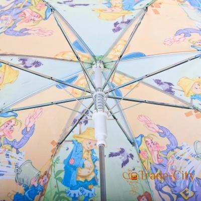 Зонт-трость облегченный детский полуавтомат ZEST (Z21665-2)