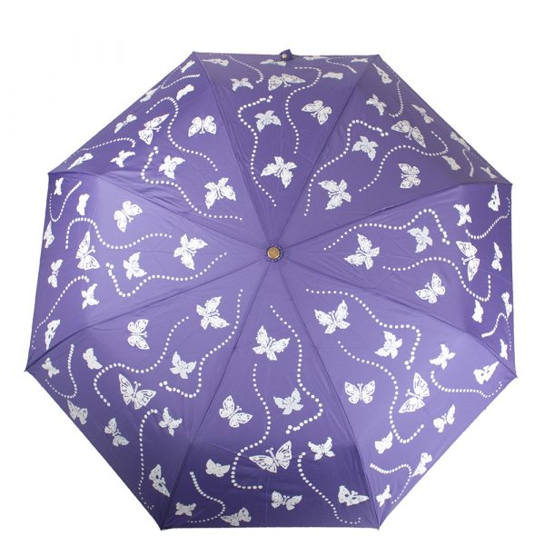 Зонт женский автомат с эффектом «хамелеон» ТРИ СЛОНА
