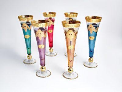 Бокалы для шампанского «Royal» Art Decor (6 шт.)