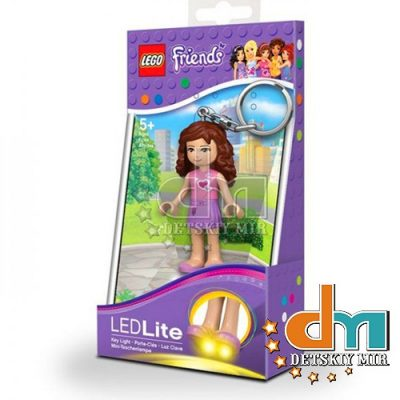 Брелок-фонарик «Оливия» Lego Friends