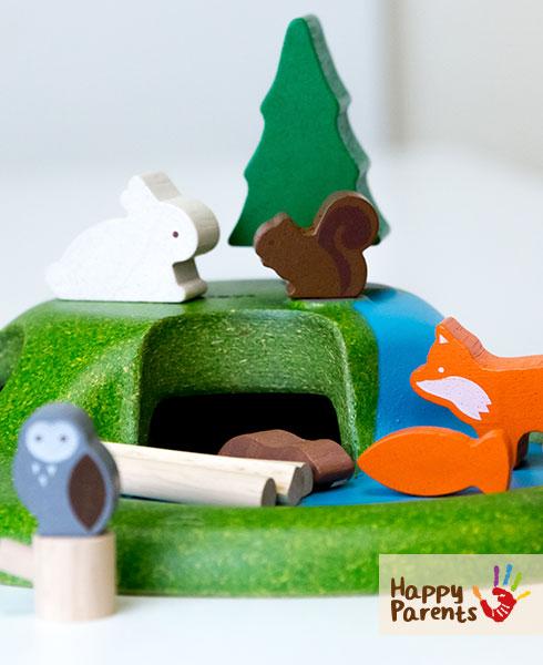 Детский игровой набор «Лесные животные»