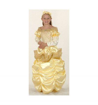 Карнавальный костюм «Принцесса в золотом»