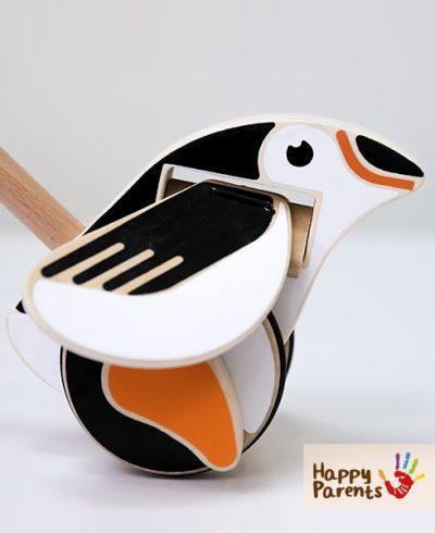 Каталка детская «Пингвин»