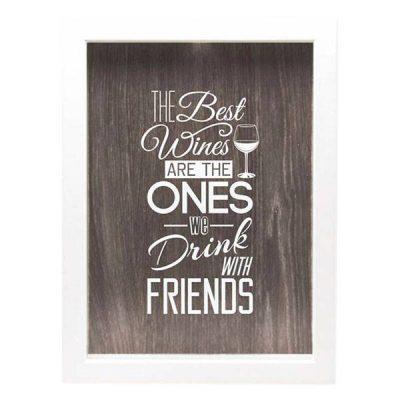 Копилка для винных пробок Friends