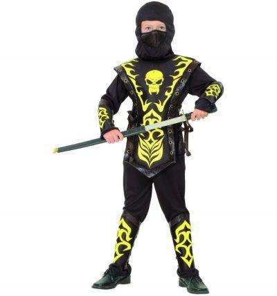 Карнавальный костюм «Ниндзя желтый»