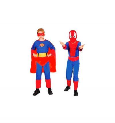 Карнавальный костюм «Спайдермен-Супермен» 2 в 1 трансформер