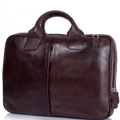 Мужской кожаный портфель DESISAN (SHI052-019-10FL)