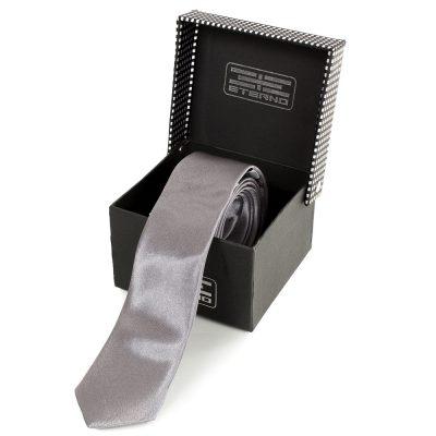 Мужской узкий шелковый галстук ETERNO (EG624)