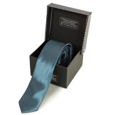Мужской узкий шелковый галстук ETERNO (EG627)