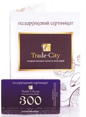 Подарочный сертификат номиналом 300 гривен