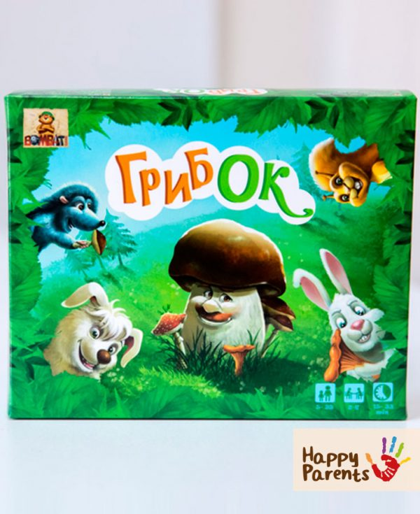 Семейная настольная игра «Гриб'OK»