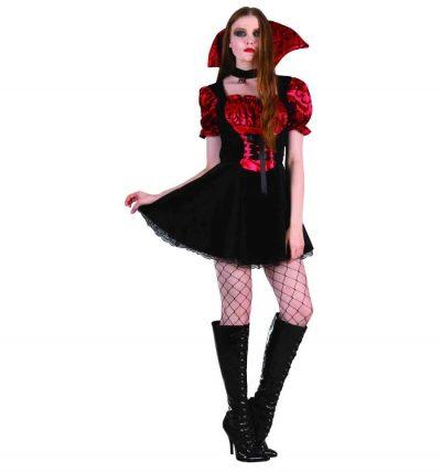 Взрослый карнавальный костюм «Вампирша»
