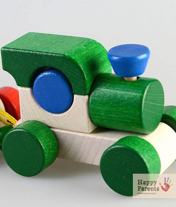 Деревянный конструктор «Поезд» ТМ ТАТО