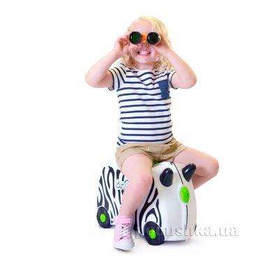 Детский дорожный чемоданчик Trunki «Zebra Zimba»