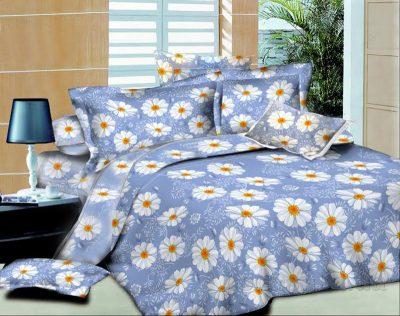 Комплект постельного белья «Indigo daisies» SoundSleep поплин