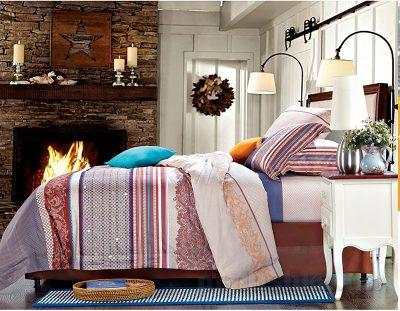Комплект постельного белья «Ontario» SoundSleep Сатин