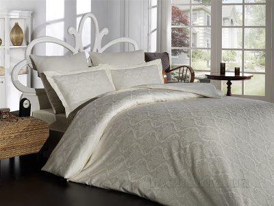 Комплект постельного белья SoundSleep «Damask Cream» сатин-жаккард