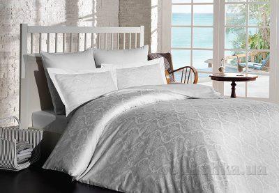 Комплект постельного белья SoundSleep «Damask White» сатин-жаккард